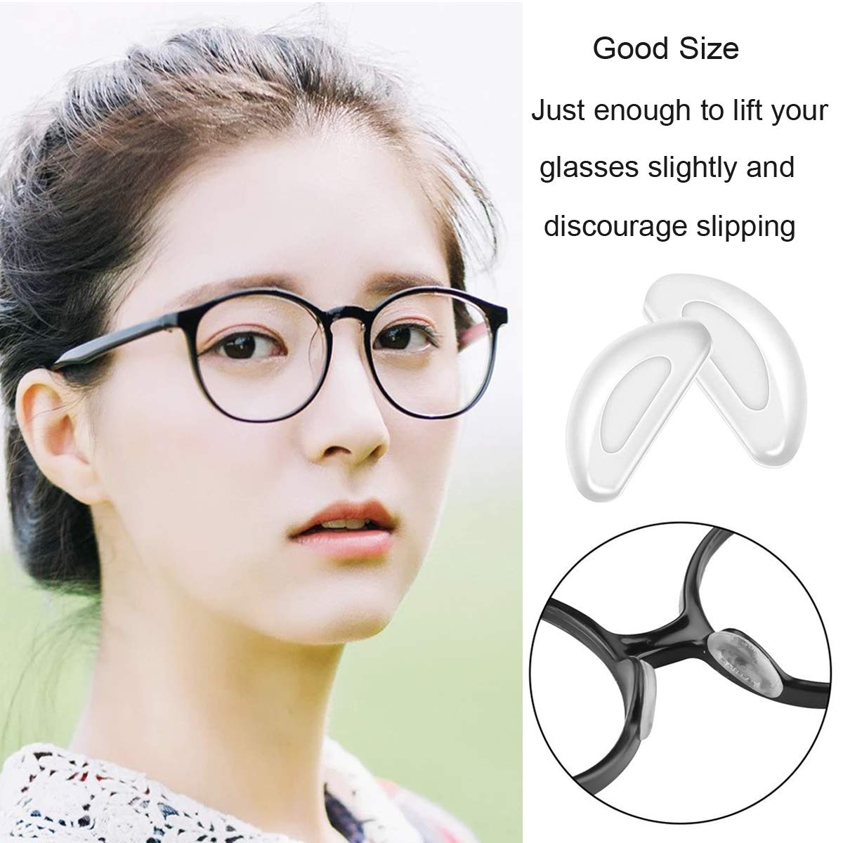 best nose pads for glasses