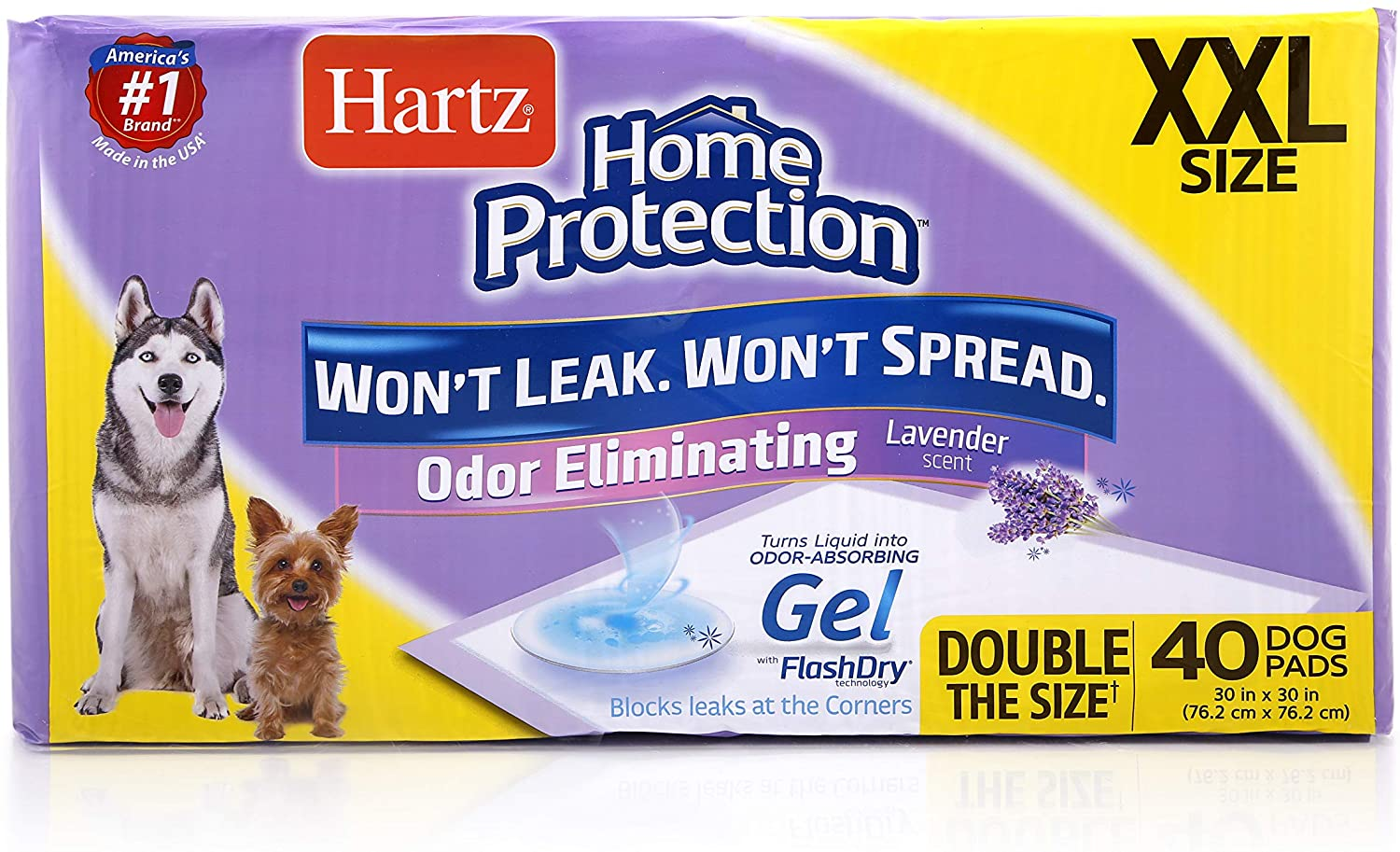 Hartz pee pads for older dogs
