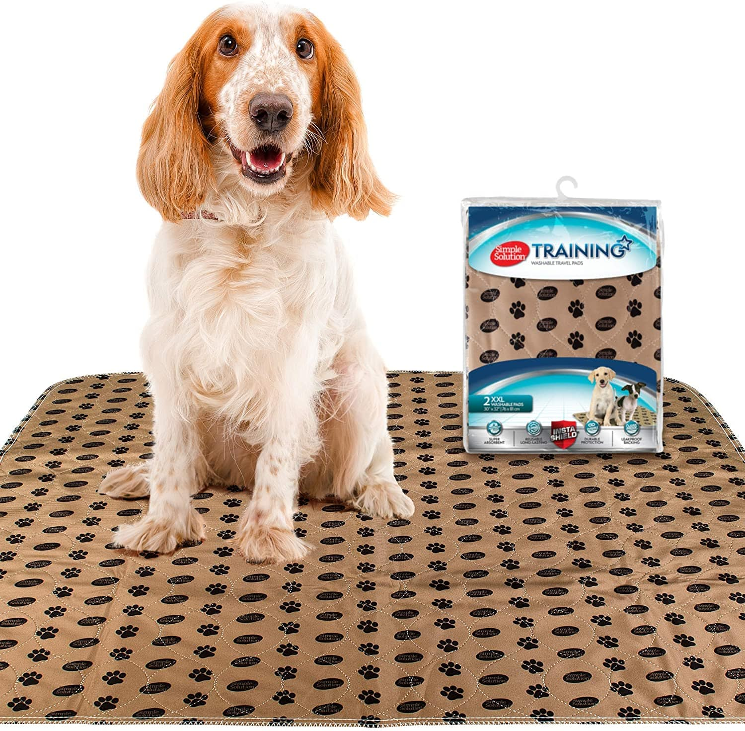 Large size reusable pee pads for older dogs